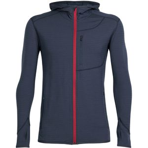 Icebreaker Descender Hooded Fleece Jacket - Men's