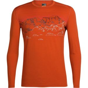 Icebreaker Oasis Long-Sleeve Crewe Sky Night Shirt - Men's