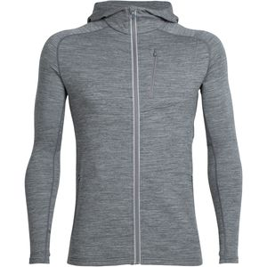 Icebreaker Quantum Hooded Full-Zip Shirt - Men's