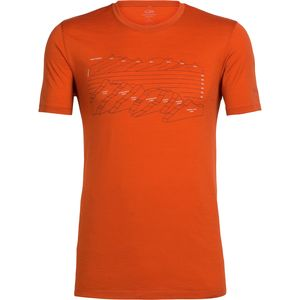Icebreaker Tech Lite Short-Sleeve Crewe First Ascents Shirt - Men's