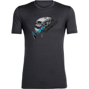 Icebreaker Tech Lite Short-Sleeve Crewe Snow Bug Shirt - Men's