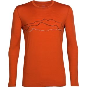 Icebreaker Tech Lite Long-Sleeve Crewe Toughest Triple Shirt - Men's