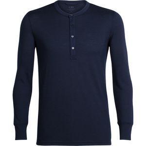 Icebreaker Trailhead Long-Sleeve Henley Shirt - Men's