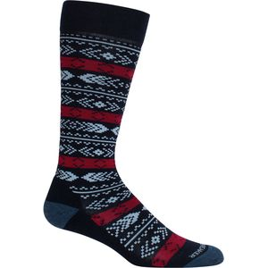 Icebreaker Lifestyle Light Over the Calf Tree Line Sock - Women's
