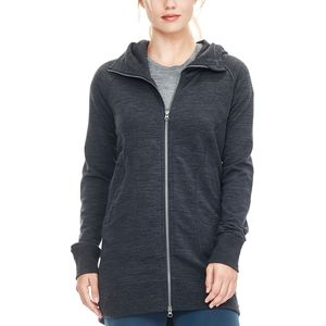 Icebreaker Dia Long Hooded Jacket - Women's