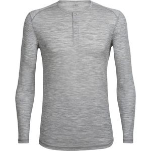 Icebreaker City Lite Long-Sleeve Henley - Men's