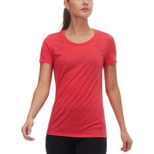 Icebreaker Tech Lite Short-Sleeve Low Crewe Shirt - Women's