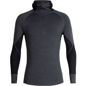 Icebreaker 260 Zone Long-Sleeve Half Zip Hood Top - Men's