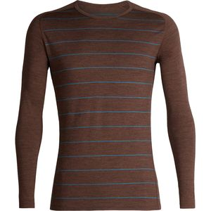 Icebreaker 200 Oasis Deluxe Raglan Long-Sleeve Crew Top - Men's