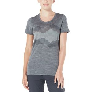 Icebreaker Tech Lite Low Cook Reflected Crewe Top - Women's