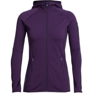 Icebreaker Atom Hooded Zip - Women's