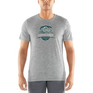 Icebreaker Tech Lite Cook Crest Short-Sleeve Crewe Shirt - Men's