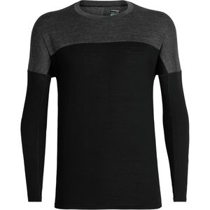 Icebreaker Kinetica Long-Sleeve Crewe Shirt - Men's