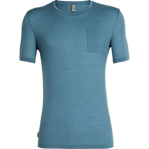 Icebreaker Solace Short-Sleeve Pocket Crew Shirt - Men's