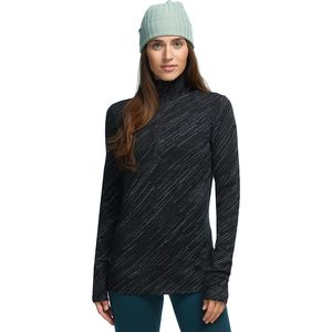Icebreaker 250 Vertex LS Half Zip Snow Storm Top - Women's