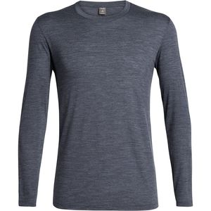 Icebreaker Elements Long-Sleeve Crew Shirt - Men's