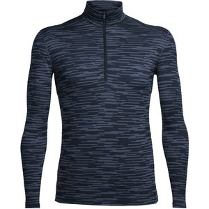 Icebreaker BodyFit 200 Oasis Zip-Neck Top - Men's