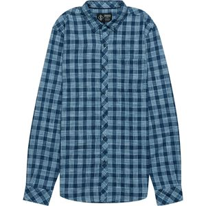 Indigo Star Sage Plaid Button-Down Shirt - Men's