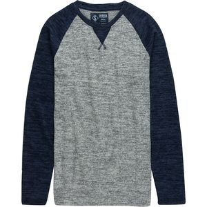 Indigo Star Wartortle Colorblock Crewneck Sweater - Men's