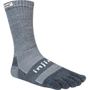 Injinji Outdoor Midweight Nuwool Crew Socks - Men's
