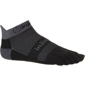 Injinji Run Midweight No-Show CoolMax Sock