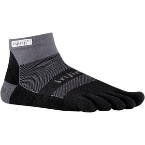 Injinji Run Midweight Coolmax Mini-Crew Toe Socks