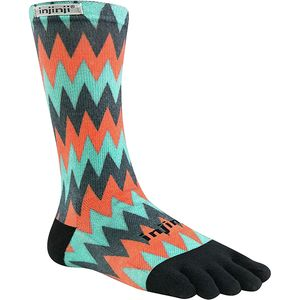 Injinji Run Lightweight Coolmax Crew Toe Socks