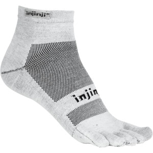 Injinji Run Lightweight Coolmax Mini-Crew Toe Sock