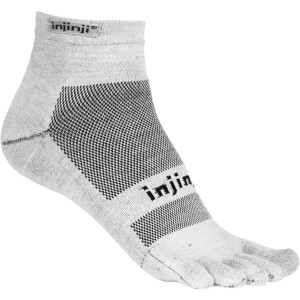 Injinji Run Lightweight Coolmax Mini-Crew Toe Socks