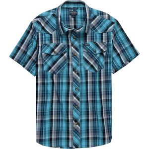 Smith's Plaid Western Snap Button Shirt - Men's