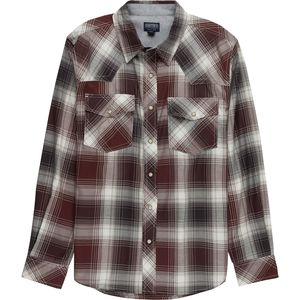 Smith's Western Plaid Long-Sleeve Shirt - Men's