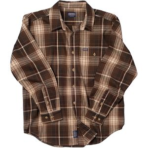 Smith's Flannel Plaid Long-Sleeve Shirt - Men's