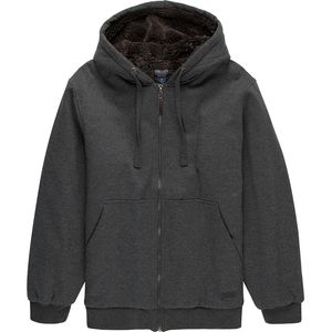 Smith's Heavyweight Sherpa Lined Zip Up Hoodie - Men's