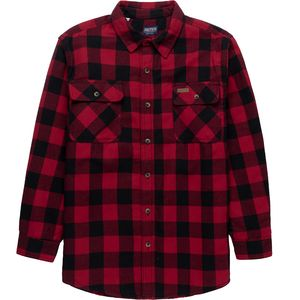 Smith's Plaid Sherpa Lined Shirt Jacket - Men's