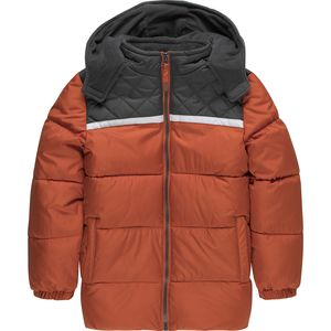 Ixtreme Colorblock Diamond Quilting Puffer Jacket - Toddler Boys'