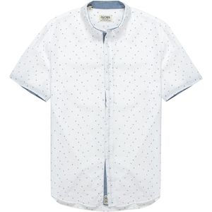 JACHS Contrast Detail Button-Down Shirt - Men's