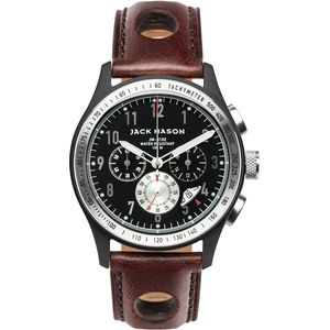 Jack Mason R102 Racing Collection PVD Leather Watch