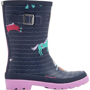 Joules Printed Welly Boot - Girls'