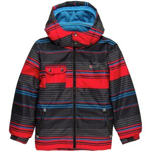 Juxt Striped Ski Jacket - Boys'