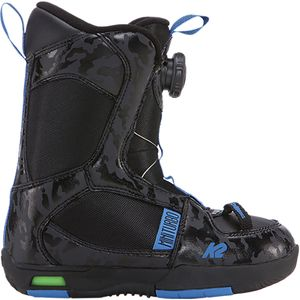 K2 Snowboards Mini Turbo Boa Snowboard Boot - Little Boys'