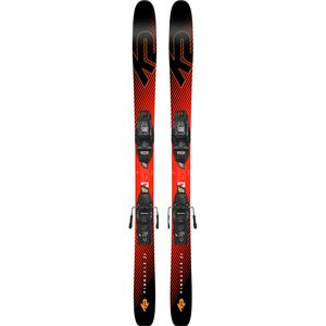 K2 Pinnacle Jr. Ski with Marker FDT Jr. 7.0 Binding - Kids'