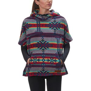 KAVU Overlook Fleece Poncho - Women's
