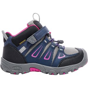 KEEN Oakridge Mid WP Hiking Shoe - Little Girls'