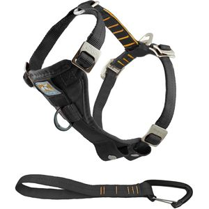 Kurgo Enhanced Strength Tru-Fit Smart Harness with Seatbelt Tether