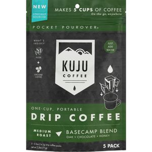 Kuju Coffee Kuju Coffee Pocket PourOver Coffee - 5-Pack