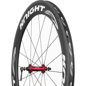 Knight 65 Carbon Fibre/Aivee SR5 Road Wheelset - Clincher