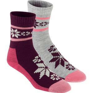 Kari Traa Rusa Wool Socks - 2-Pack - Women's