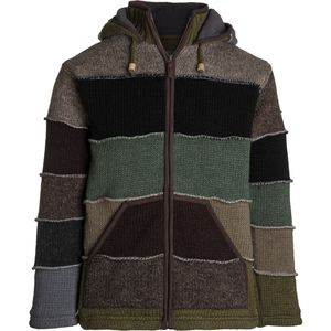 Laundromat Patchwork Sweater - Mens'