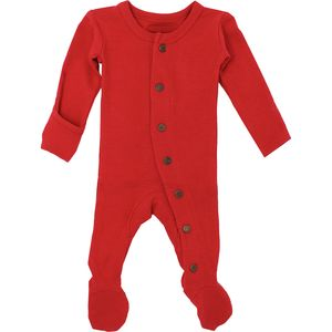 L'oved Baby Organic Cotton Thermal Footed Overall - Infants'