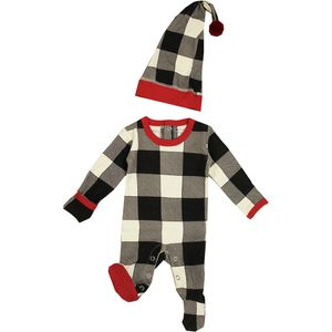 L'oved Baby Holiday Overall and Cap Set - Infants'